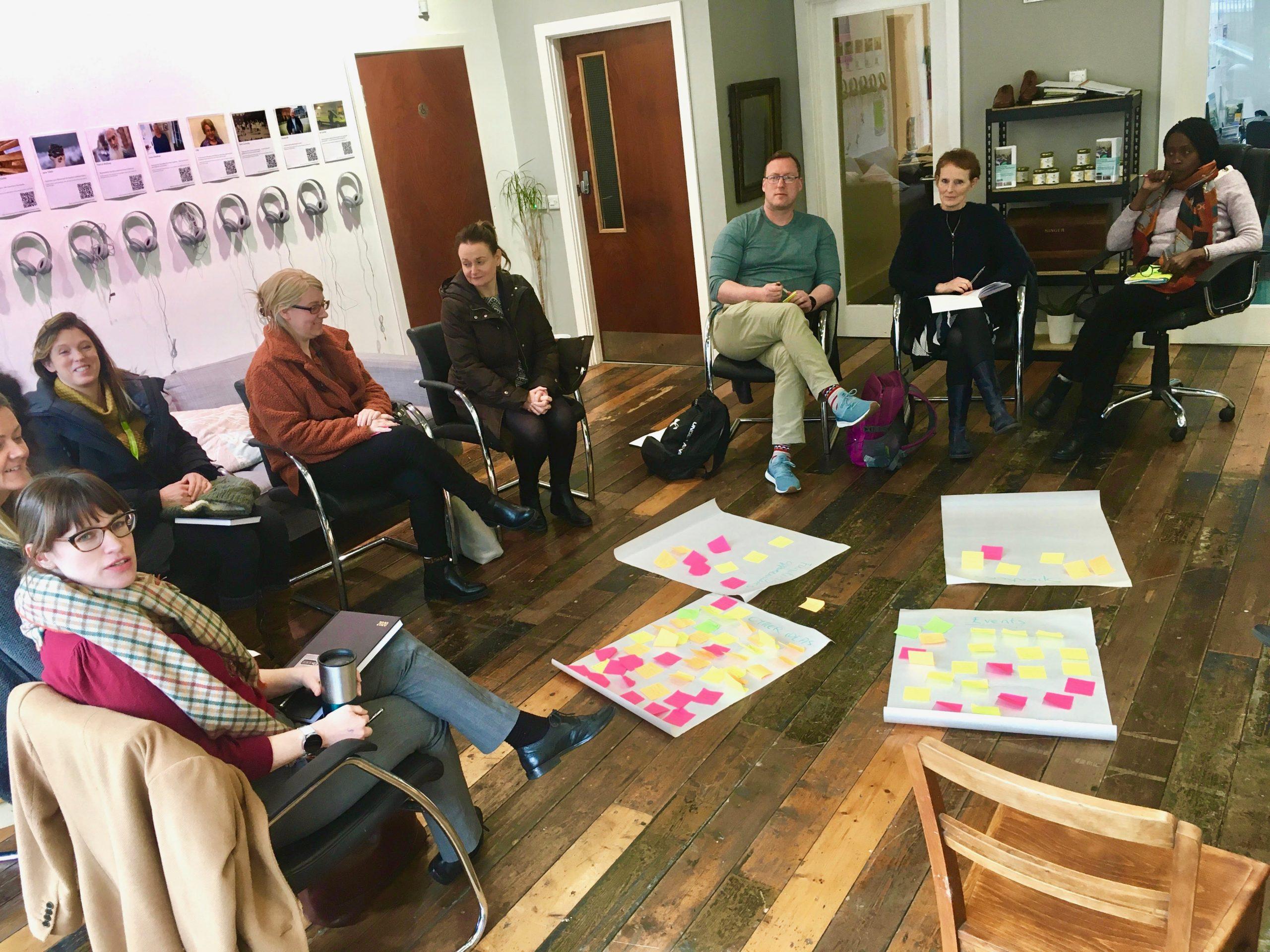 Cork Resident Network Dublin meeting